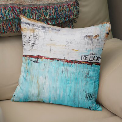 Charis Relax Throw Pillow Size: 18 x 18