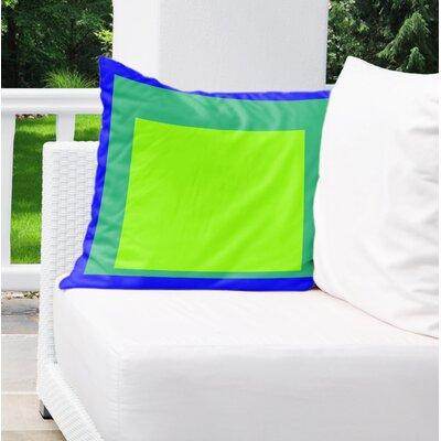 Balog Blue/Green Indoor/Outdoor Pillow