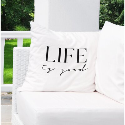 Charla Indoor/Outdoor Throw Pillow Size: 26 H x 26 W x 8 D