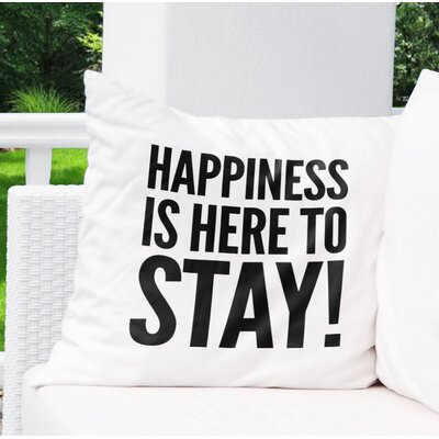 Charlaine Indoor/Outdoor Throw Pillow Size: 26 H x 26 W x 8 D