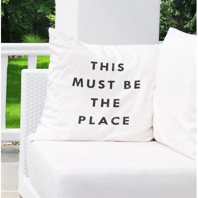 Chayne Indoor/Outdoor Throw Pillow Size: 26 H x 26 W x 8 D