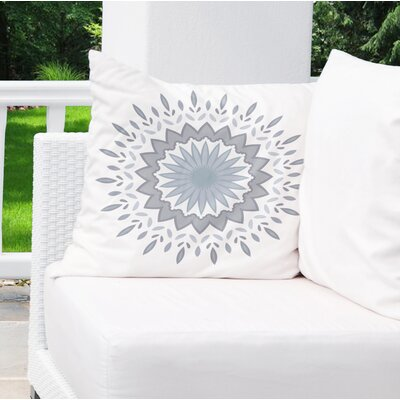 Gallatin Indoor/Outdoor Throw Pillow Size: 18 x 18