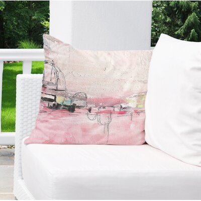 Chaunte Indoor/Outdoor Throw Pillow Size: 26 H x 26 W x 8 D