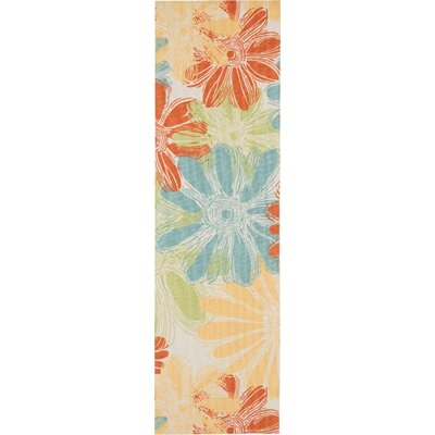 Somerville Home & Garden  IndoorOutdoor Area Rug Rug Size: Runner 23 x 8