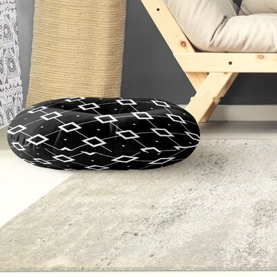 Tsang Diamond Outdoor Floor Pillow Size: 26 x 26
