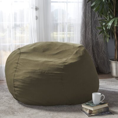 Bean Bag Chair Upholstery: Ivy Green