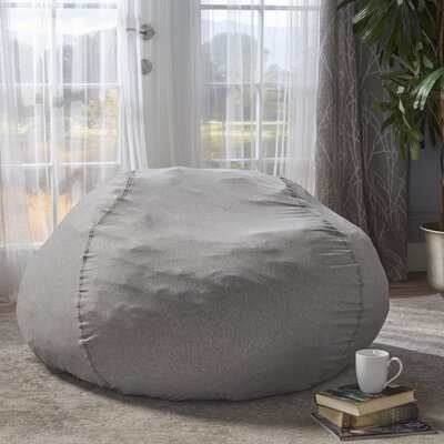 Bean Bag Chair Upholstery: Heather Gray