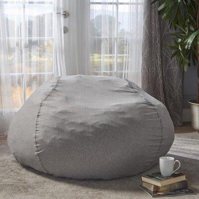 Bean Bag Chair Upholstery: Heather Gray
