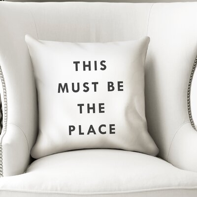 Chayne Indoor/Outdoor Throw Pillow Size: 24 H x 24 W x 8 D
