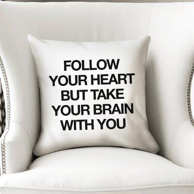 Charmine Indoor/Outdoor Throw Pillow Size: 18 H x 18 W x 8 D