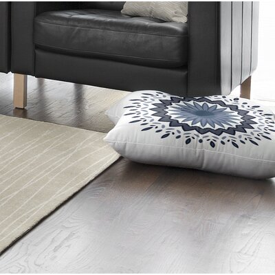 Trym Flower Power Outdoor Floor Pillow Size: 23 x 23