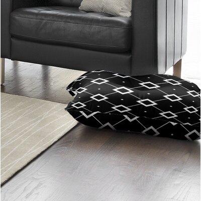 Tsang Diamond Outdoor Floor Pillow Size: 26 x 26