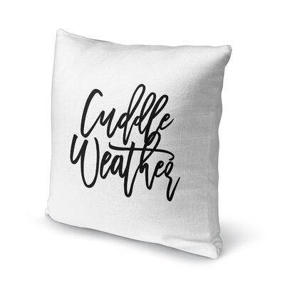 Sheneza Cuddle Weather Outdoor Throw Pillow Size: 18 x 18