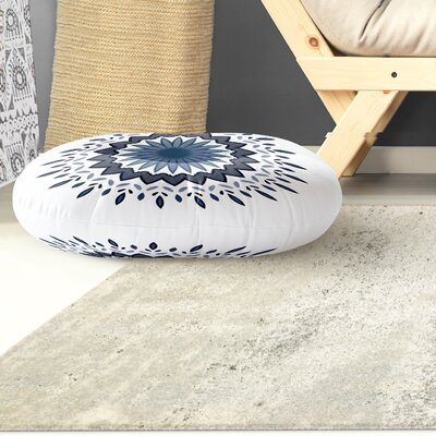 Trym Flower Power Outdoor Floor Pillow Size: 26 x 26
