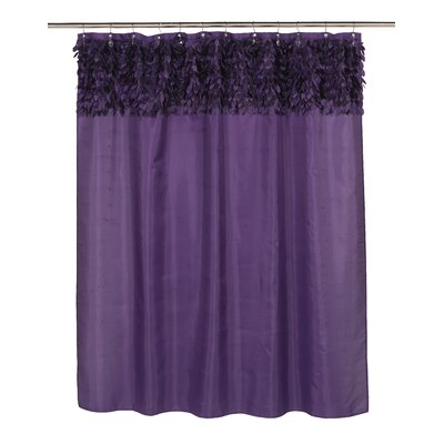 Kimbrel Shower Curtain Color: Purple