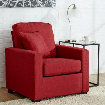 Earlene Armchair Upholstery: Cardinal