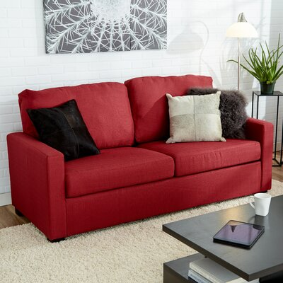 Earlene Sofa Upholstery: Cardinal