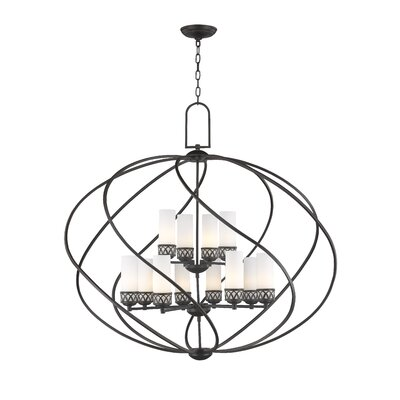 Johnstown 12-Light Foyer Pendant Finish: Olde Bronze