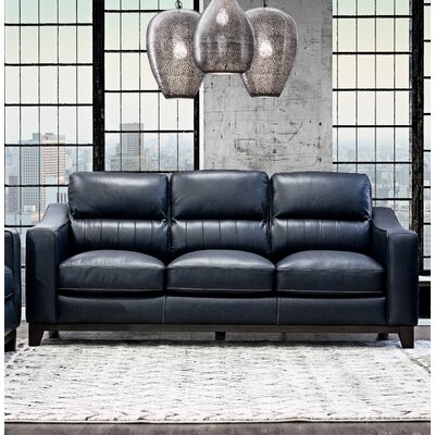 Yokley Leather Sofa