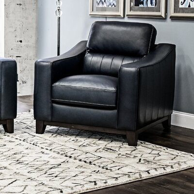 Yokley Leather Chair