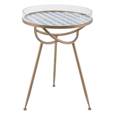 Sarvis Round End Table
