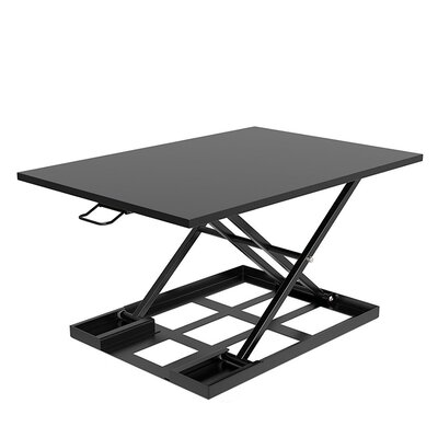 Tooley Ergonomic Pro Height Adjustable Sit Riser Standing Desk Conversion Unit