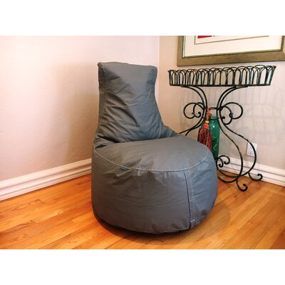 Bean Bag Chair Upholstery: Slate Gray