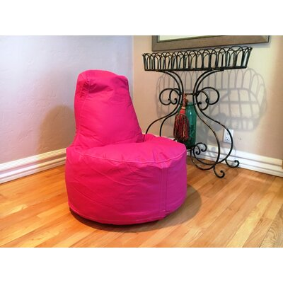 Kids Bean Bag Chair Upholstery: Hot Pink
