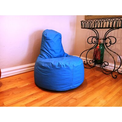 Kids Bean Bag Chair Upholstery: Sky Blue
