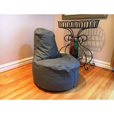 Kids Bean Bag Chair Upholstery: Slate Gray