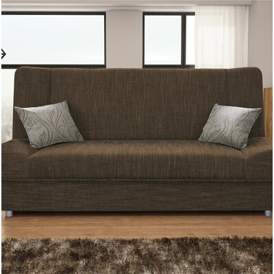 Vivanco Sofa Bed Finish: Brown