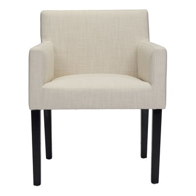 Ambrosino Upholstered Dining Chair Color: Beige