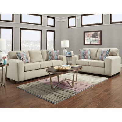 Ravindra 2 Piece Living Room Set