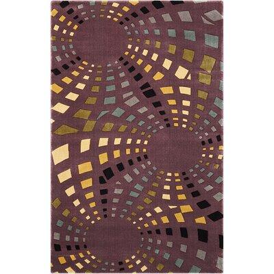 Adelina Chocolate Area Rug Rug Size: Rectangle 36 x 56