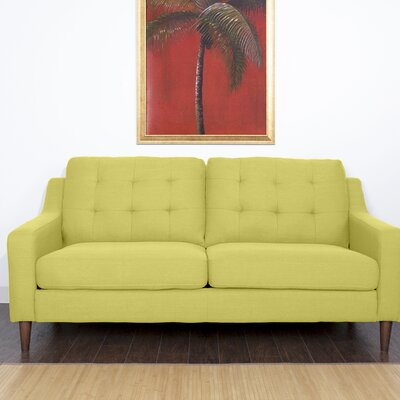 Bacote Couch Upholstered Sofa Upholstery: Vintage Green