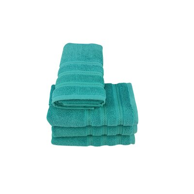 High Plain Hand Towel Color: Aqua