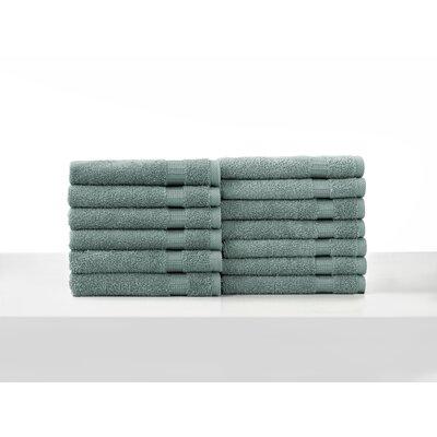 Colunga Wash Cloth Towel Set Color: Green