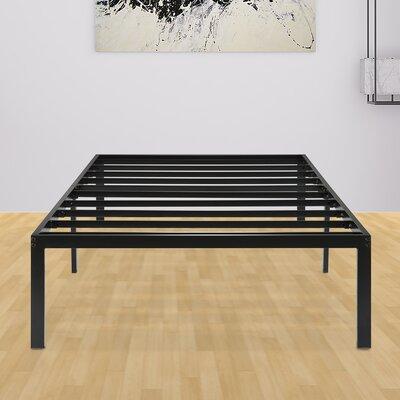 Yetter Steel Slat Bed Frame Size: Twin