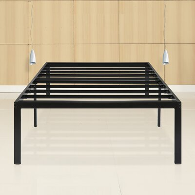 Yetter Steel Slat Bed Frame Size: Twin