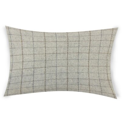 Baltimore Plaid Down Filled Lumbar Pillow Color: Deep Red