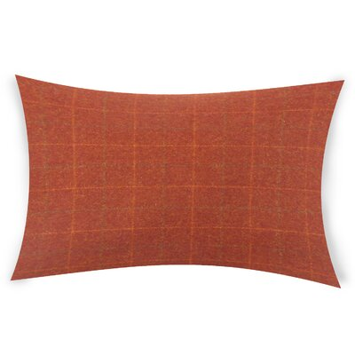Sherwin Plaid Down Filled Lumbar Pillow Color: Multi