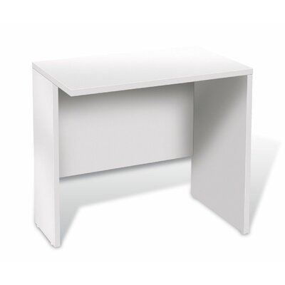 Buragate 29 H x 32 W Reversible Desk Return Finish: White