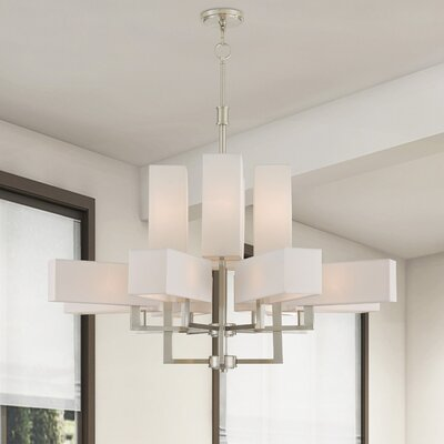 Bigham Candle-Style Chandelier Finish: Brushed Nickel