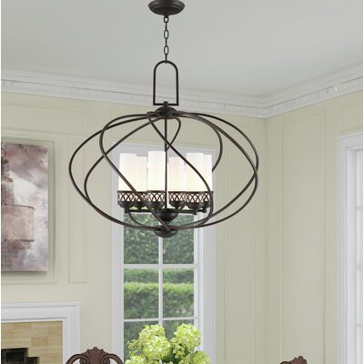Johnstown 6-Light Globe Pendant Finish: Olde Bronze