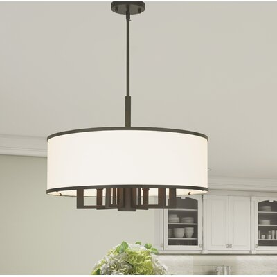 Cana 7-Light Drum Chandelier Finish: Bronze