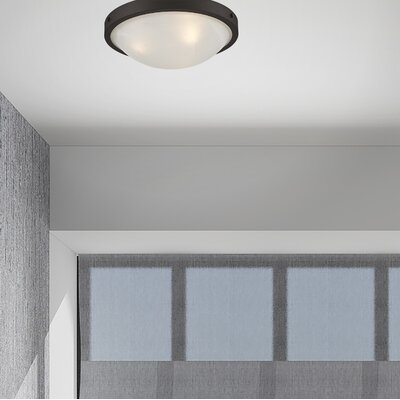 Ann 3-Light Flush Mount Finish: Bronze