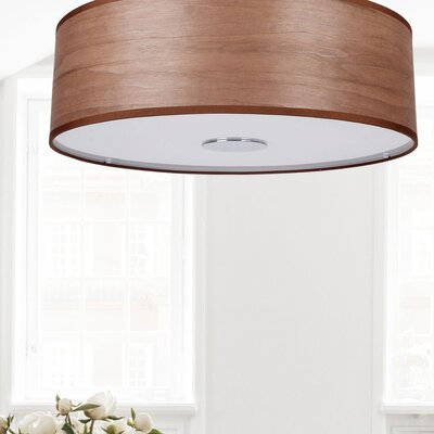 Wieczorek 4-Light Semi Flush Mount