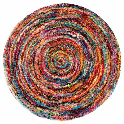 Hector Area Rug Rug Size: Round 5 3