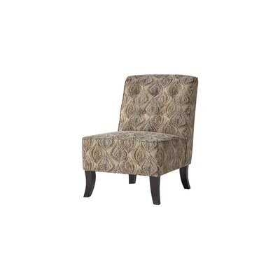 Serta Upholstery Amalia Slipper Chair Upholstery: Cadiz Carnival