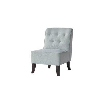 Serta Upholstery Amalia Slipper Chair Upholstery: Coast Aqua